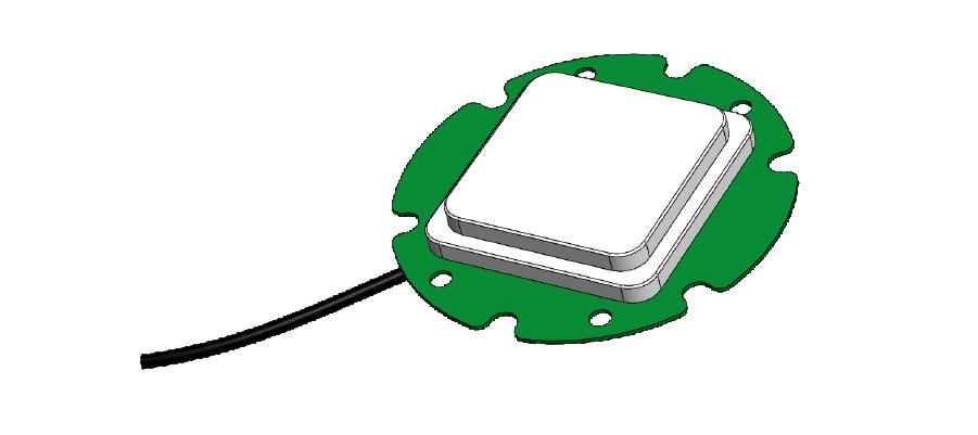 simpleRTK2B GNSS multiband OEM antenna 3D model