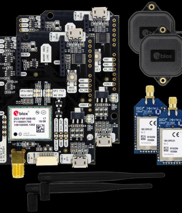 simpleRTK2B Starter Kit LR IP67