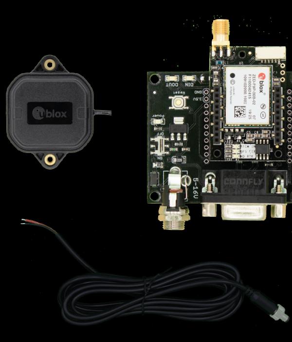 simpleRTK2Blite - RS232 Starter Kit