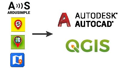 Ardusimple GIS logos