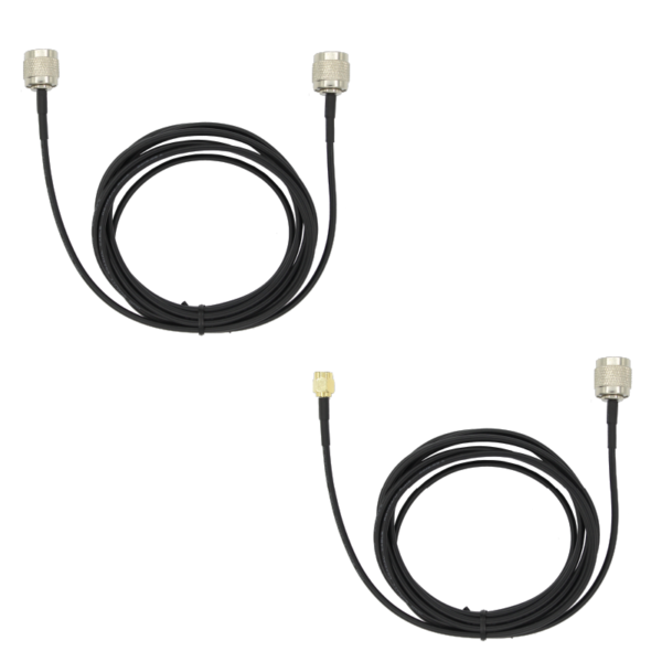 Survey calibrated GNSS RTK antenna triple band cables