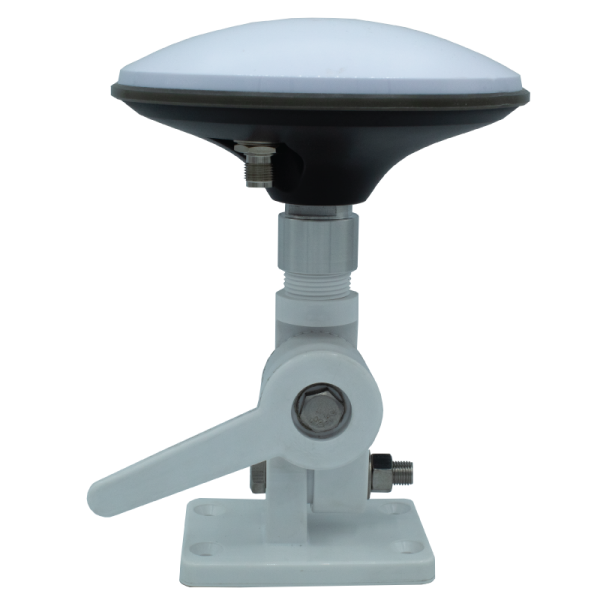 GNSS RTK marine thread adapter with stand and antenna